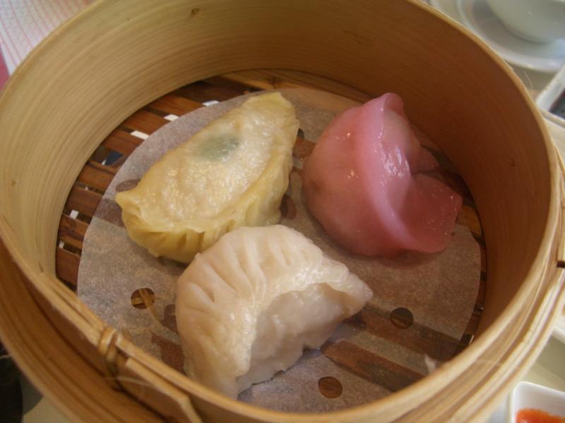 Variety (gingery) dumplings