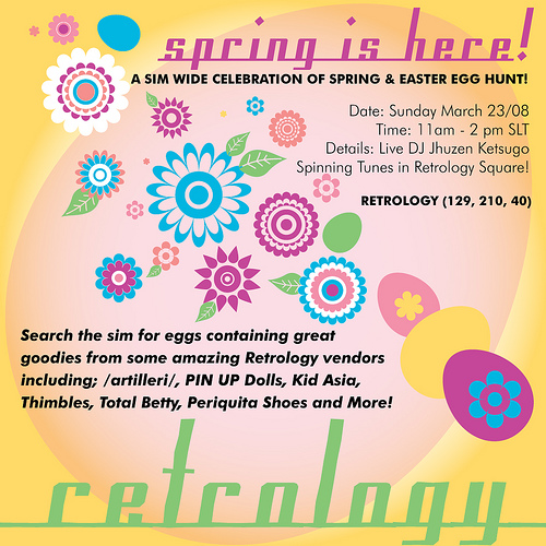 Spring Event On Retrology!
