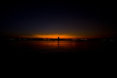 From A Distance (BarneyF) Tags: sunset color silhouette night liverpool landscape birkenhead refelection merseyside capitalofculture rivermersey liverpool08