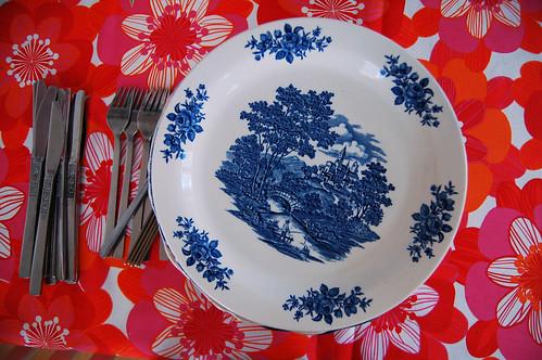 Mom's china