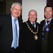 peter horrix, lord mayor cllr jim rodgers and paul teague