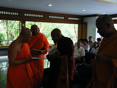 Maha Bodhi Society at Wat Yanvesakawan