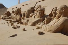 The last supper (kotofoto) Tags: sculpture beach strand germany deutschland sand skulptur balticsea carver luebeck lübeck ostsee travemünde schleswigholstein sandworld travemuende