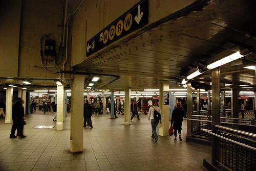 Times Square mezzanine