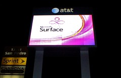Microsoft Surface larger than life