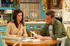 Monica & Chandler in Friends