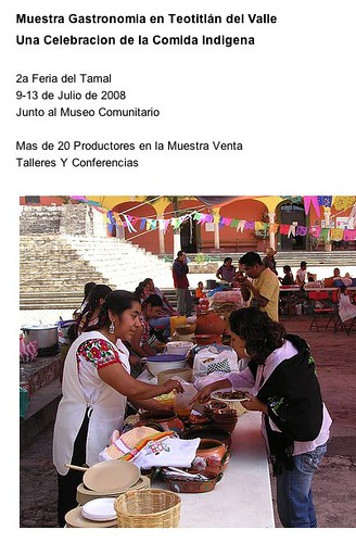 Indigenous Food Festival, Teotitlan, Mexico (07.2008)
