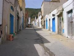 Ruelle du village qui donne sur le souk