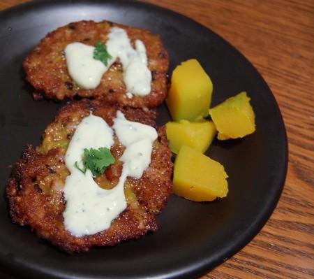 Dinner: Kobocha Croquettes