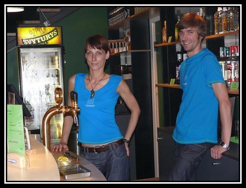 Bar del Pabellón de Lituania en la Expo 2008