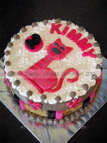 Cat Cake for Cute Kimmy