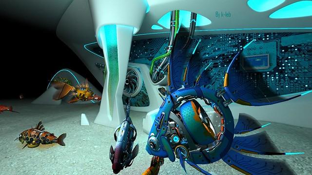 Cyberfish 3d screensaver 1 0 2