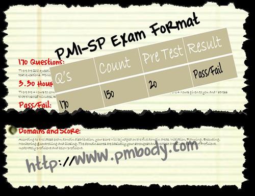 PMI-SP Exam Format