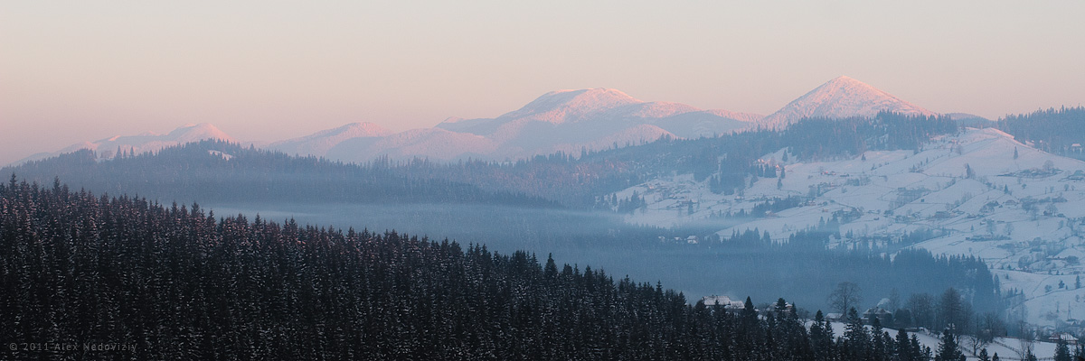 Carpathians ... © 2011 Alex Nedoviziy