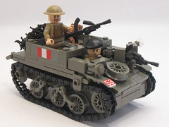 "Canadian Universal Carrier Mk.II (""Rumrunner"") Tags: men infantry army gun lego brodie wwii helmet machine canadian 2nd ww2 decal universal custom carrier bren worldwar2 brigade mkii allies armoured brickarms brickmania"