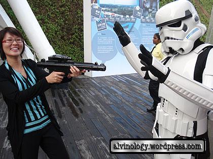 Neng Tuan attacking storm trooper