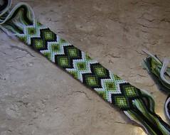 Faixinha Verde (stephanield) Tags: verde preta branca faixinha