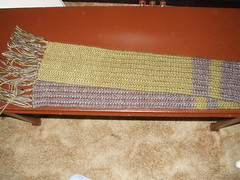 one row scarf long