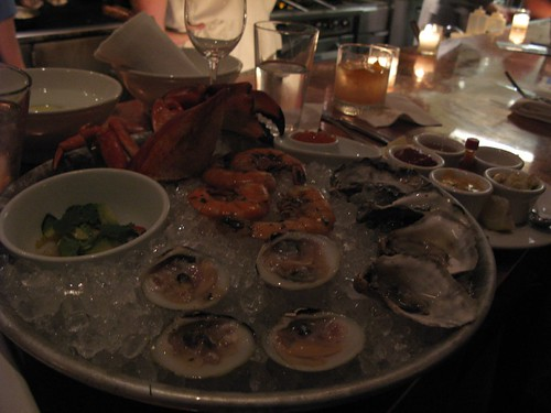 The Small Seafood Platter at Hungry Cat