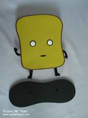 Mr Toast vinyl toy