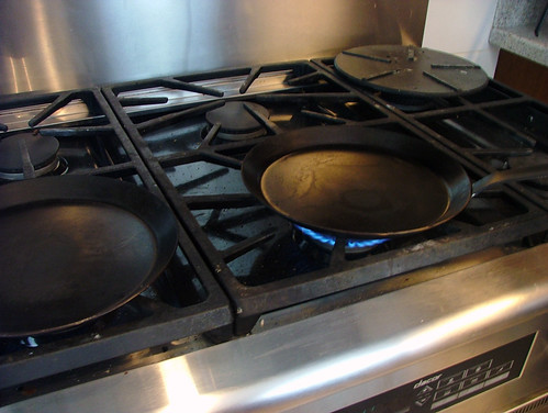 Preparing Crepe Pans