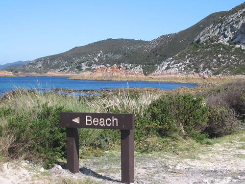 Rocky Cape NP 2 ... where's the beach?
