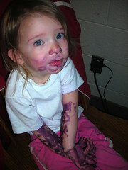 Anna and the Purple Marker