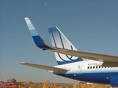 757 blended winglets