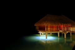 Space bungalow (blupic) Tags: island nikon paradise d70 resort 1870mmf3545g southpacific tropical tahiti spa bora bungalow intercontinental borabora frenchpolynesia overwater thalasso