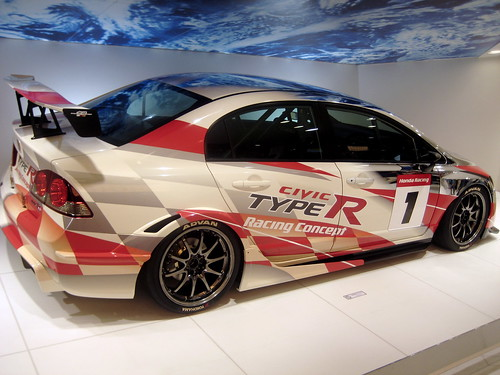 Хонда Civic Type R гоночный вариант (фото)