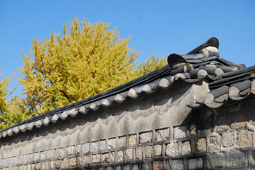 Stone Wall, Changdeokgung Palace