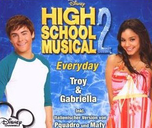 Troy and Gabriella - Everyday