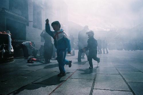 戰火中的小兒
