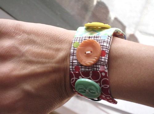 Violet and Rose bracelet