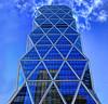 Touching sky... (egold.) Tags: newyork architecture skyscrapers hdr blueribbonwinner singintheblues flickrsbest anawesomeshot superbmasterpiece top20blue pritzkerprice ysplix theunforgettablepictures top20everlasting betterthangood goldstaraward