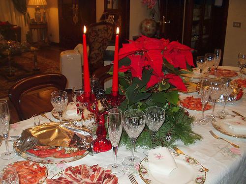 Ideas Navidad Mesas Decoradas Decocasa - Mesas-de-navidad-decoradas