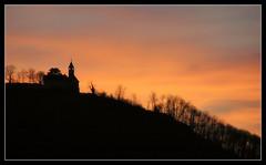 Castle Teck in the Sunset (Andrea&Mike@Flickr) Tags: sunset castle silhouette sonnenuntergang questfortherest burgteck platinumphoto colorphotoaward diamondclassphotographer flickrdiamond ysplix