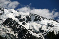Mt Sefton Summit, New Zealand (lachlansear) Tags: newzealand mountain snow peak glacier snowcapped valley nz summit mtcook gorge tasman southernalps mountcook aoraki tasmanglacier hookerglacier mtsefton mountsefton tasmanvalley aplusphoto photofaceoffwinner