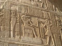 Edfu Hieroglyphics (upyernoz) Tags: temple ruins egypt hieroglyphics  edfu templeofedfu templeofhorus idfu