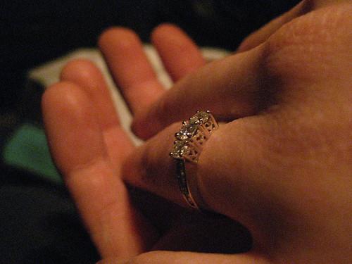 Angela's Engagement Bling