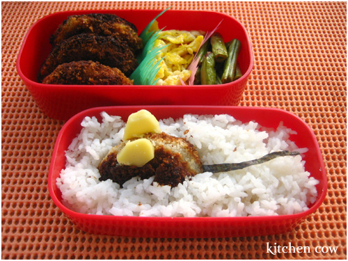 178 Fish Menchikatsu Bento