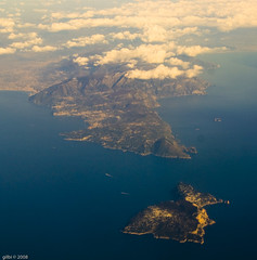 Capri and Sorrento peninsula Photo