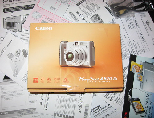 Canon A570 IS Documentation