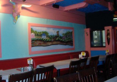 Yucatan Grill - Indoor Patio