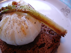 Danish poached egg