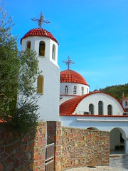 -  (pantherinia_hd Anna A.) Tags: church island mediterranean religion aegean hellas holy greece lesvos vacations saintraphael mitilini    aplusphoto  theperfectphotographer spiritofphotography