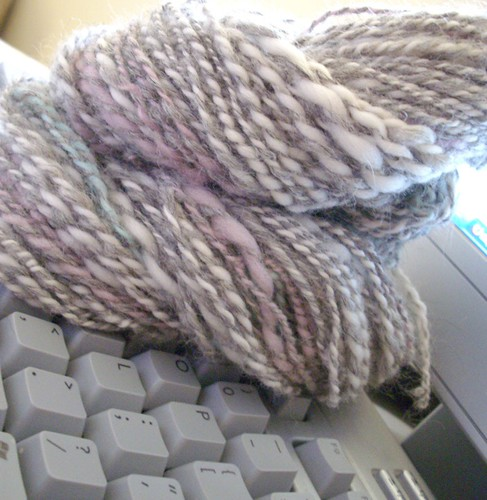 Jim & Pam - Handspun yarn - month of love series