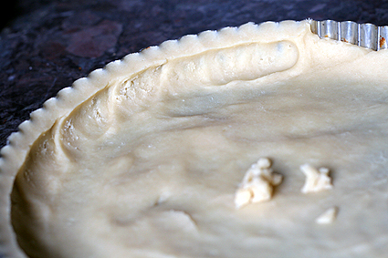 Pressing Tart Dough