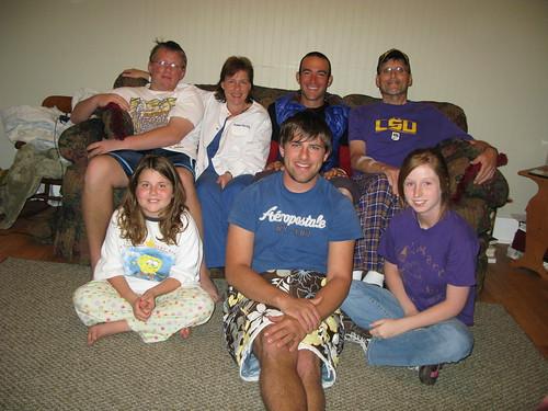 With Ardoin family in Mamou, Louisiana, USA