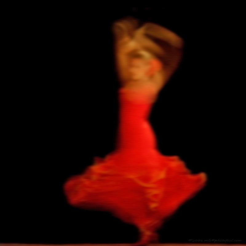 flamenco dancer fiesta photofool
